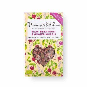 Primroses Kitchen - Raw Beetroot & Ginger Muesli 300g