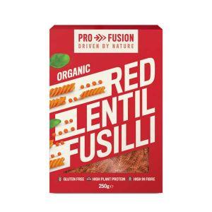 Profusion Organic Gluten-free Red Lentil Fusilli 250g