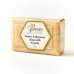 Paul Paynes Honey And Beeswax Soap With Propolis Soap 90g