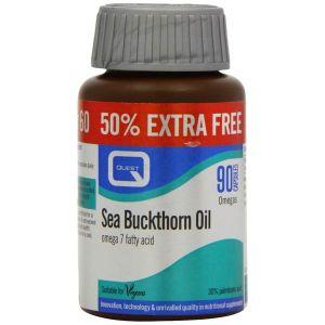Quest Sea Buckthorn Oil omega 7 fatty acid 90 capsules