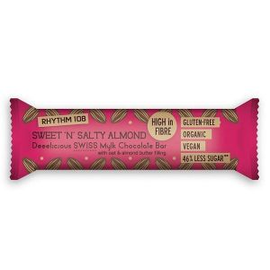 Rhythm 108 Sweet & Salty Almond Snack Bar 33g
