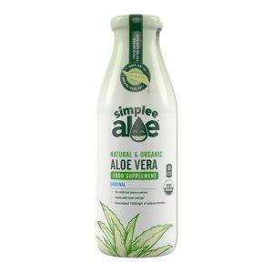 SimpleeAloe Natural & Organic Aloe Vera food supplement 500ml