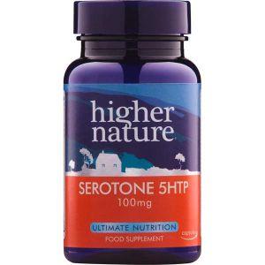 Higher Nature Serotone 5htp 100mg 30 Caps