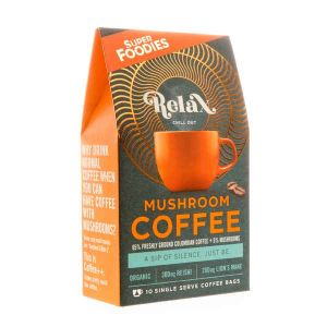 Superfoodies Mushroom Coffee Relax 10 sachets