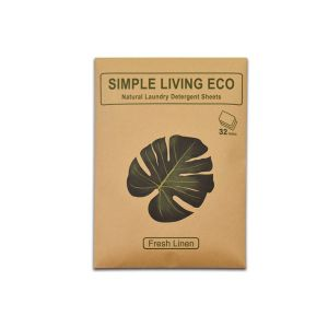 Simple Living Eco Natural Laundry Detergent Sheets 32 pack