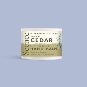 Scence Natural Skincare Fresh Cedar Hand Balm 40g