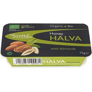 Sunita - Organic Bio Honey Halva with Almonds 75g