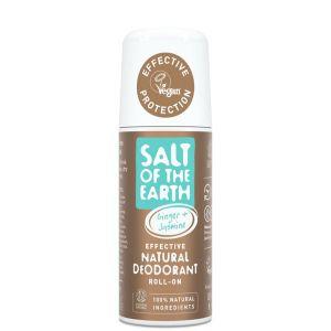 Salt Of The Earth Jasmine and Ginger Roll On Deodorant 75ml