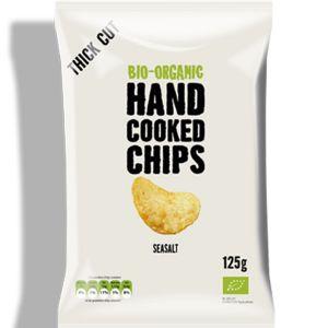 Trafo Organic Handcooked Potato Chips Sea Salt 40g