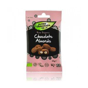 The Raw Chocolate Co Chocolate Almonds 25g