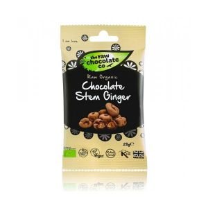 The Raw Chocolate Co Chocolate Stem Ginger 28g