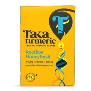 Taka Turmeric Organic Rooibos Honeybush 15 Teabags