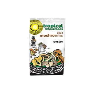 Tropical Wholefoods Dried Oyster Mushrooms 25g