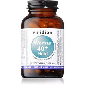 Viridian Woman 40+ Multi 60 Vegetarian Capsules