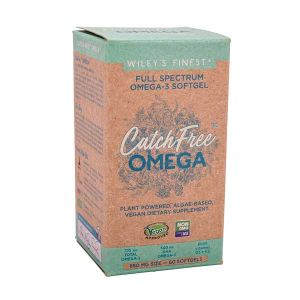Wiley's Finest Catch Free Full Spectrum Omega 3 60 Vegan Softgels