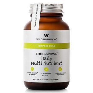 Wild Nutrition Bespoke Child Daily Multi 60 Vegecaps
