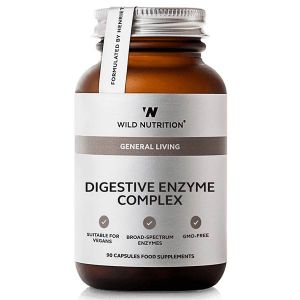 Wild Nutrition Digestive Enzyme Complex 90 Vegetarian Capsules