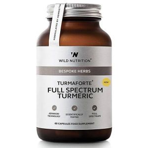 Wild Nutrition Food-Grown Turmaforte Full Spectrum Turmeric 1000mg 60 capsules