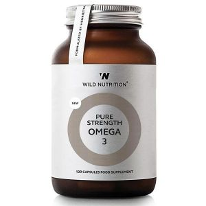 Wild Nutrition Pure Strength Omega 3 supplement