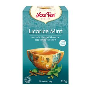 Yogi Organic Licorice Mint Tea 17 Teabags