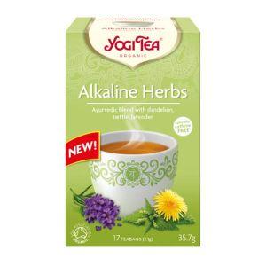 Yogi Tea Organic Alkaline Herbs 17 teabags