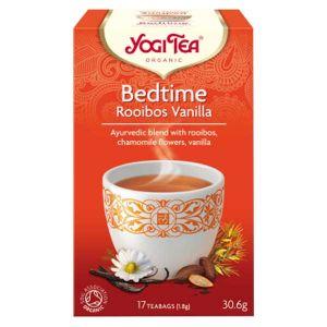 Yogi Tea Organic Bedtime Rooibos Vanilla 17 Tea Bags