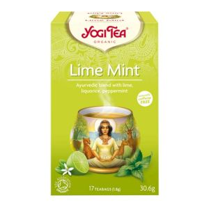 Yogi Tea Organic Lime Mint 17 Teabags