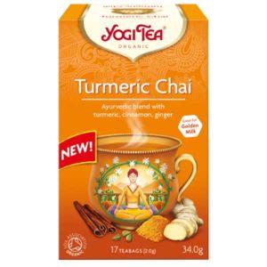 Yogi Tea Organic Turmeric Chai 17 Teabags