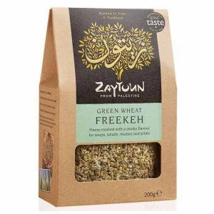 Zaytoun Smoky Freekeh Green Wheat 200g