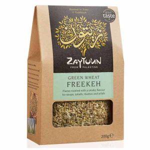 Zaytoun Smoky Freekeh Green Wheat 200g