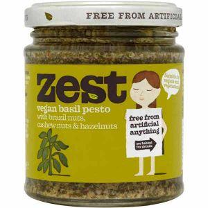 Zest - Vegan Basil Pesto 165g