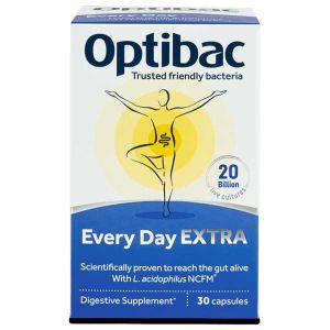 Optibac Probiotics For Every Day Extra Strength 30 Capsules