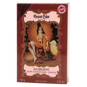 Henne Color Auburn 100g Powder