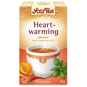 Yogi Heart-warming Organic Tea 17 Bags