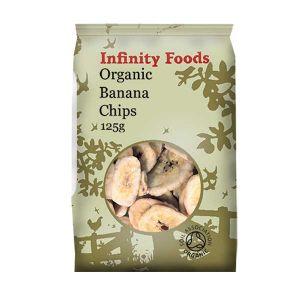 Infinity Foods Organic Banana Chips