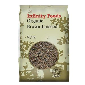 Infinity Foods Organic Brown Linseed