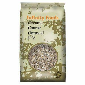 Infinity Foods Organic Coarse Oatmeal 500g