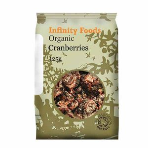 Infinity Foods Organic Cranberry With Apple Juice