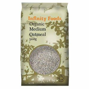 Infinity Foods Organic Medium Oatmeal 500g