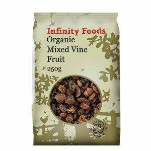 Infinity Foods Organic Mixed Vine Fruit