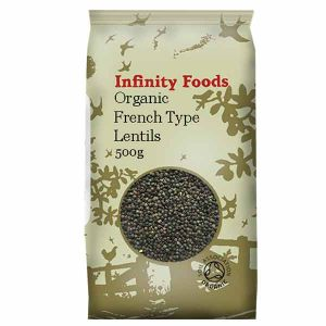 Infinity Foods Organic French Lentils