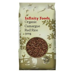 Infinity Foods Organic Red Camargue Rice 500g