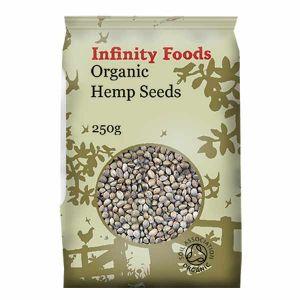 Infinity Foods Organic Hemp Seeds 250g