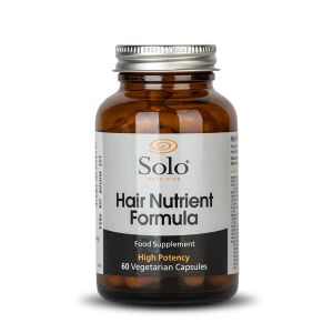 Solo Hair Nutrient Formula Complex 60 Vegecaps