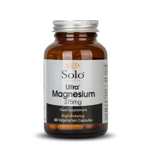 Solo Ultra Magnesium 375mg 60 Vegecaps