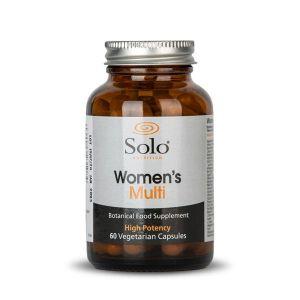 Solo Womens Multi 60 Vegecaps