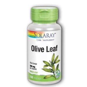 Solaray Olive Leaf 300mg 100 Vegecaps