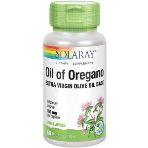 Solaray Oil Of Oregano 150mg 60 Capsules