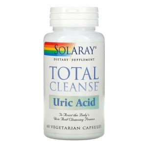 Solaray Total Cleanse For Uric Acid 60 Tablets