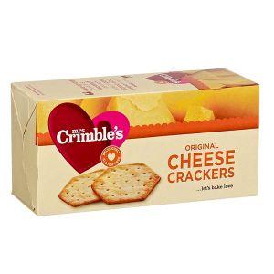 Mrs Crimble's Original Gluten Free Cheese Crackers 130g